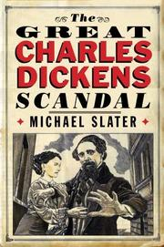 Book Cover for THE GREAT CHARLES DICKENS SCANDAL