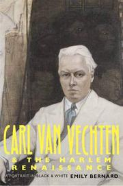 Book Cover for CARL VAN VECHTEN AND THE HARLEM RENAISSANCE