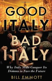Cover art for GOOD ITALY, BAD ITALY