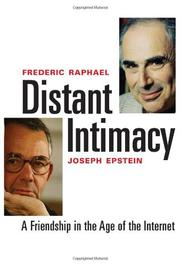 Cover art for DISTANT INTIMACY