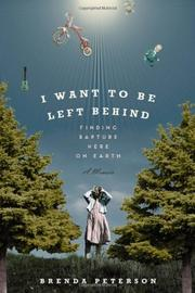 Cover art for I WANT TO BE LEFT BEHIND