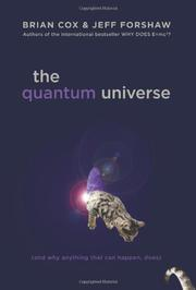 Cover art for THE QUANTUM UNIVERSE