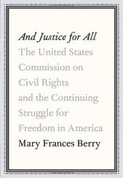 Book Cover for AND JUSTICE FOR ALL