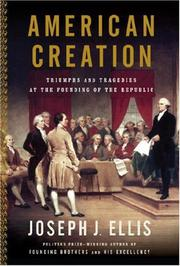 Book Cover for AMERICAN CREATION