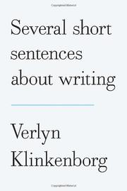 Book Cover for SEVERAL SHORT SENTENCES ABOUT WRITING