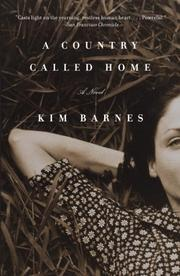 Cover art for A COUNTRY CALLED HOME