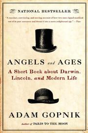 Book Cover for ANGELS AND AGES