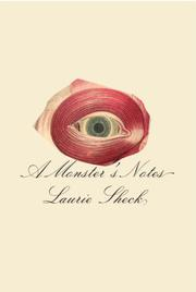 Cover art for A MONSTER'S NOTES