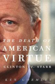 Book Cover for THE DEATH OF AMERICAN VIRTUE
