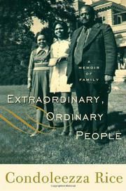 Book Cover for EXTRAORDINARY, ORDINARY PEOPLE