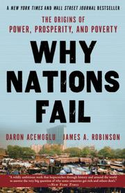 Book Cover for WHY NATIONS FAIL