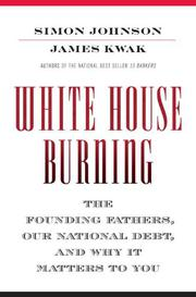Cover art for WHITE HOUSE BURNING