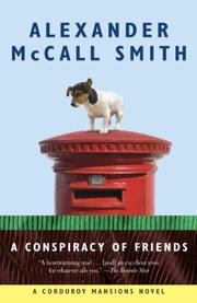 Cover art for A CONSPIRACY OF FRIENDS