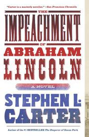 Cover art for THE IMPEACHMENT OF ABRAHAM LINCOLN