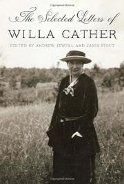 Cover art for THE SELECTED LETTERS OF WILLA CATHER