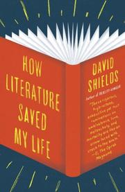 Book Cover for HOW LITERATURE SAVED MY LIFE