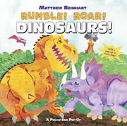 Cover art for RUMBLE! ROAR! DINOSAURS!