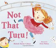 Book Cover for NOT THAT TUTU!