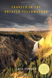 Book Cover for TRAVELS IN THE GREATER YELLOWSTONE