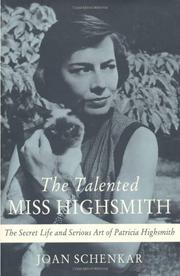 Cover art for THE TALENTED MISS HIGHSMITH