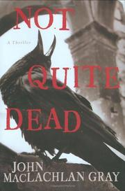 Cover art for NOT QUITE DEAD