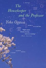 Book Cover for THE HOUSEKEEPER AND THE PROFESSOR