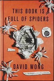 Cover art for THIS BOOK IS FULL OF SPIDERS