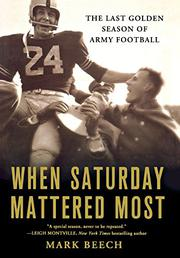 Cover art for WHEN SATURDAY MATTERED MOST