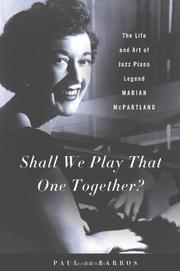 Book Cover for SHALL WE PLAY THAT ONE TOGETHER?