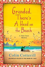 Book Cover for GRANDDAD, THERE'S A HEAD ON THE BEACH