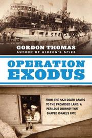 Cover art for OPERATION EXODUS