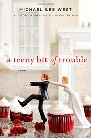 Cover art for A TEENY BIT OF TROUBLE