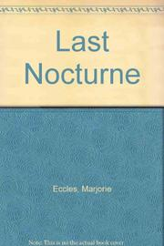 Cover art for LAST NOCTURNE