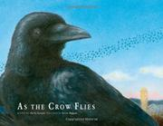 Cover art for AS THE CROW FLIES