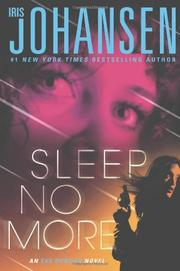 Book Cover for SLEEP NO MORE
