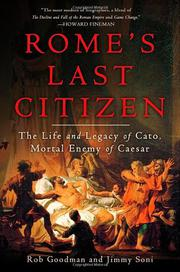 Cover art for ROME'S LAST CITIZEN