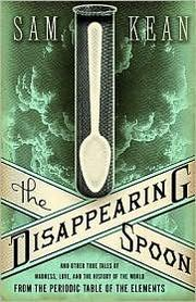 Cover art for THE DISAPPEARING SPOON