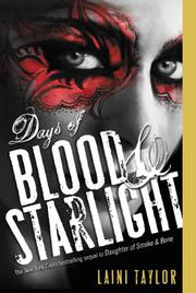 Cover art for DAYS OF BLOOD AND STARLIGHT