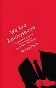 Cover art for WE ARE ANONYMOUS