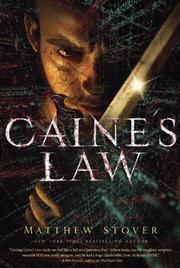 Book Cover for CAINE'S LAW
