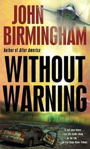 Cover art for WITHOUT WARNING