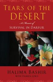 Book Cover for TEARS OF THE DESERT