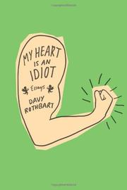 Cover art for MY HEART IS AN IDIOT