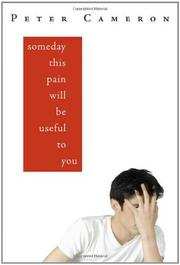 Book Cover for SOMEDAY THIS PAIN WILL BE USEFUL TO YOU