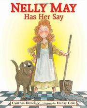 Book Cover for NELLY MAY HAS HER SAY