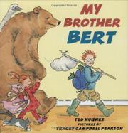 Book Cover for MY BROTHER BERT