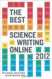 Book Cover for THE BEST SCIENCE WRITING ONLINE 2012