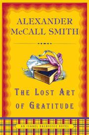 Book Cover for THE LOST ART OF GRATITUDE