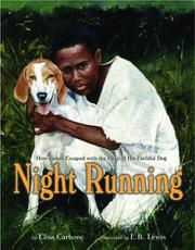Cover art for NIGHT RUNNING