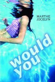 Cover art for WOULD YOU